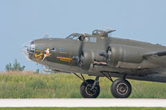Belle de B-17 Memphis Fotografia de Stock