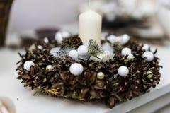 Belle decorazioni floreali Fotografie Stock Libere da Diritti
