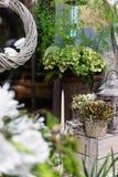 Belle decorazioni floreali Immagine Stock