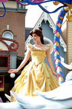 Belle in Disney Princess. Belle from In Beauty and the Beast, the intelligent and lovely Belle has dreams – and they don't include living in a small French Stock Photography