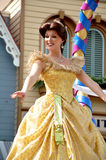 Belle in Disney Princess. Belle from In Beauty and the Beast, the intelligent and lovely Belle has dreams – and they don't include living in a small French Stock Image