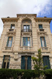 Belle Epoque ornate stone building, Nice,Cote d'Azur, France. Royalty Free Stock Images