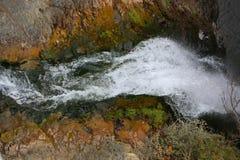 Belle et gentille cascade photographie stock libre de droits