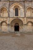 Belle façade romane Photographie stock libre de droits