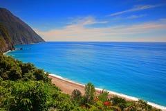 Belle falaise dans Hualien, Taïwan photo libre de droits