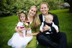 Belle famille Image libre de droits