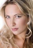 Belle femelle blonde Photographie stock