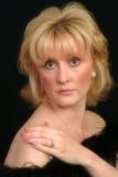 Belle femelle blonde images libres de droits
