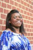 Belle femelle d'Afro-américain Photo stock