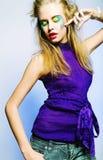 Belle femelle de danse photographie stock libre de droits