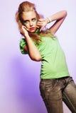 Belle femelle de danse photo libre de droits
