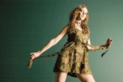Belle femme à la mode Photo libre de droits