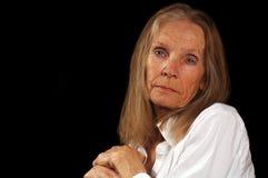 Belle femme âgée photo libre de droits