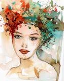 Belle femme Image stock