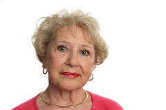 Belle femme aînée Images libres de droits