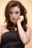 Belle femme adulte de sensualité photographie stock