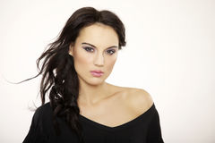Belle femme adulte de sensualité photos stock