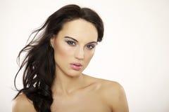 Belle femme adulte de sensualité photo libre de droits