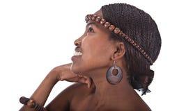 belle femme africaine photo stock