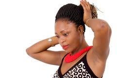 Belle femme africaine Photos libres de droits