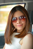 Belle femme asiatique de portrait Photographie stock