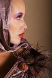Belle femme biracial photographie stock libre de droits