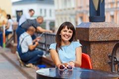 belle femme caucasienne de verticale images libres de droits