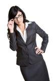 Belle femme d'affaires photographie stock