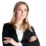 Belle femme d'affaires photo libre de droits