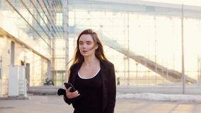Belle femme d'affaires banque de vidéos