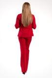Belle femme d'affaires, fille ou femme réussie dans des affaires Image libre de droits