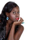 Belle femme d'Afro-américain photos stock