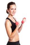 Belle femme d'exercice Photos stock