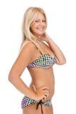 Belle femme dans le bikini photo libre de droits