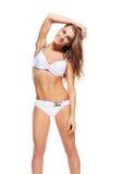 Belle femme dans le bikini Photos stock