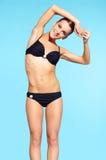 Belle femme dans le bikini Photographie stock