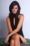Belle femme de Brunette Image stock