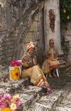 Belle femme de couleur des Caraïbes sur la célébrité Photo libre de droits