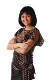 Belle femme de sourire Photographie stock libre de droits