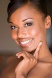 Belle femme de sourire. Photographie stock libre de droits