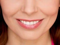 Belle femme de sourire image libre de droits