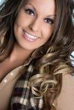 belle femme de sourire photos stock