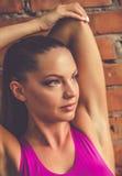 Belle femme de sports Photographie stock
