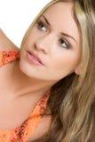Belle femme de verticale Photo libre de droits