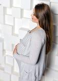 Belle femme enceinte Photo stock