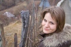 Belle femme extérieure photo libre de droits
