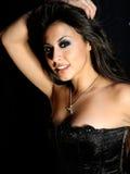 Belle femme hispanique Image libre de droits