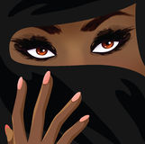 Belle femme islamique Photo libre de droits