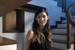 Belle femme japonaise photographie stock libre de droits