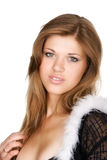 Belle femme maigre Photos stock
